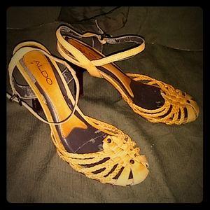 Aldo leather heels size 38 (8)